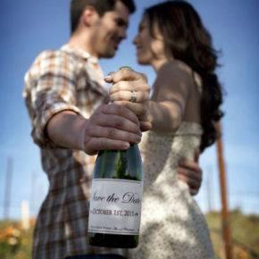 Свадебные бутылки фото 04