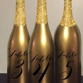 Свадебные бутылки фото 06