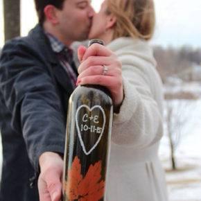 Свадебные бутылки фото 11