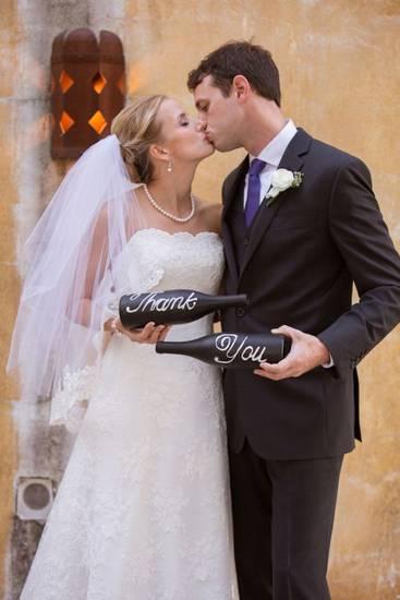 Свадебные бутылки фото 12