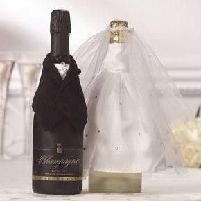 Свадебные бутылки фото 15