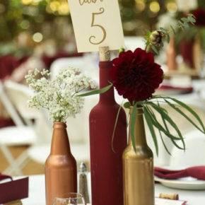 Свадебные бутылки фото 16