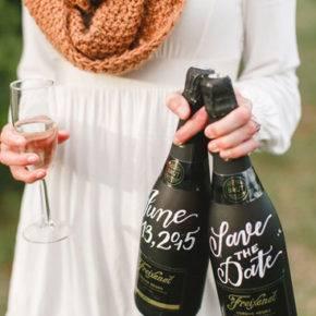 Свадебные бутылки фото 20