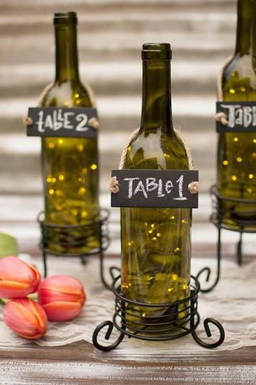 Свадебные бутылки фото 26