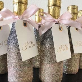Свадебные бутылки фото 32