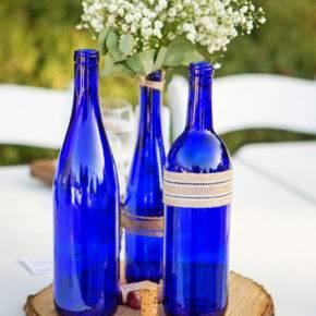 Свадебные бутылки фото 33
