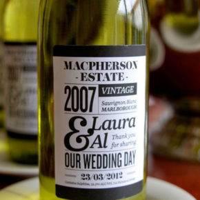 Свадебные бутылки фото 40