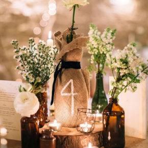 Свадебные бутылки фото 45