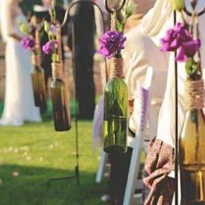 Свадебные бутылки фото 46