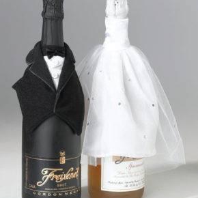 Свадебные бутылки фото 47