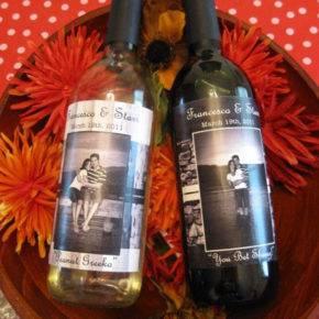 Свадебные бутылки фото 48