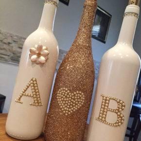 Свадебные бутылки фото 51