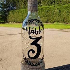Свадебные бутылки фото 52