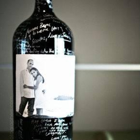 Свадебные бутылки фото 58