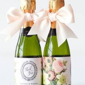 Свадебные бутылки фото 64