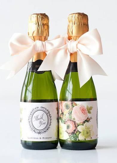 Свадебные бутылки ❤ Как украсить бутылку на свадьбу