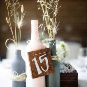 Свадебные бутылки фото 66