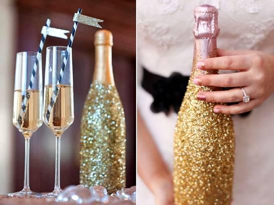 Свадебные бутылки фото 68