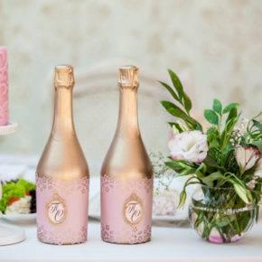 Свадебные бутылки фото 69