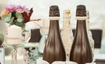 Свадебные бутылки фото 72