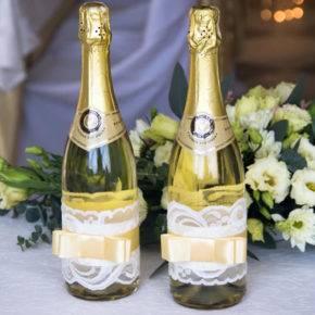 Свадебные бутылки фото 78