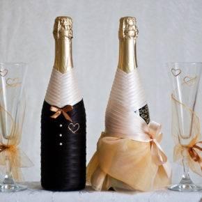 свадебные бутылки фото 102