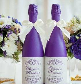 свадебные бутылки фото 501