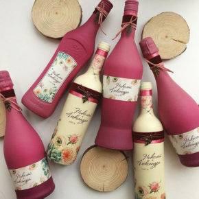 свадебные бутылки фото 506