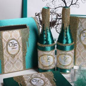 свадебные бутылки фото 507