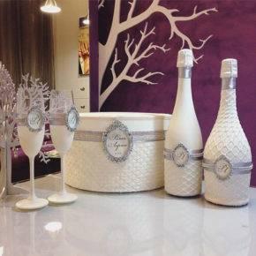 свадебные бутылки фото 508