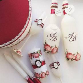 свадебные бутылки фото 509