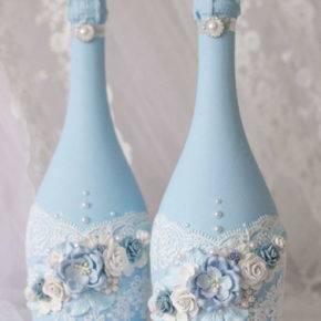 свадебные бутылки фото 515