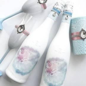 свадебные бутылки фото 516