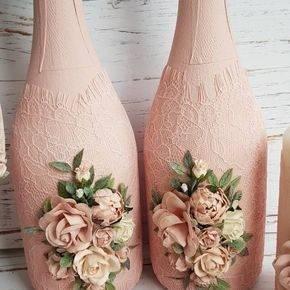 свадебные бутылки фото 517