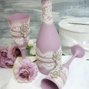 свадебные бутылки фото 518