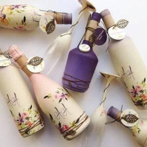свадебные бутылки фото 520