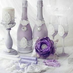 свадебные бутылки фото 522
