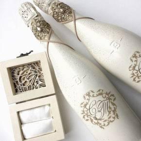 свадебные бутылки фото 523