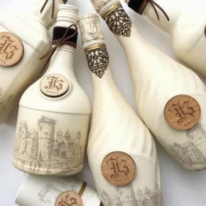 свадебные бутылки фото 524