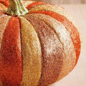 halloween pumpkin with sparkles photo 006