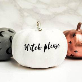 halloween pumpkin with inscriptions photo 013
