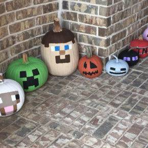 halloween pumpkin minecraft photo 084