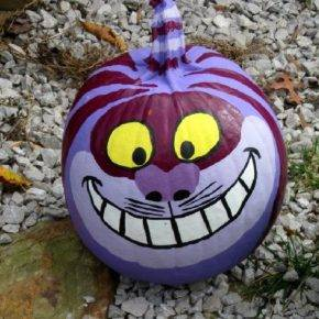 halloween pumpkin cheshire cat photo 093