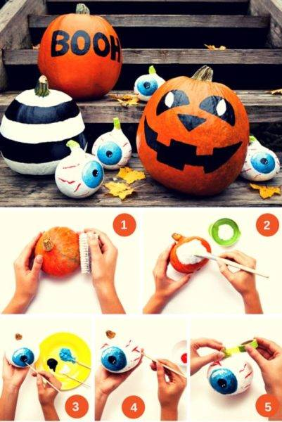 how to make a pumpkin for halloween photo 103