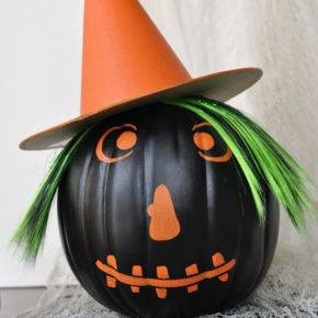 halloween pumpkin witch photo 104