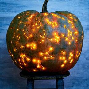 halloween pumpkin constellation photo 110