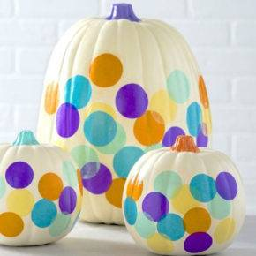 halloween pumpkin with pattern photo 121