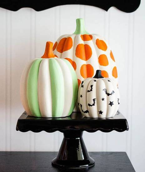 Halloween pumpkin своими How to make a pumpkin for Halloween do it yourself
