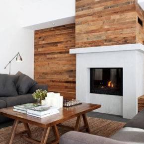 отделка стен деревом фото 8