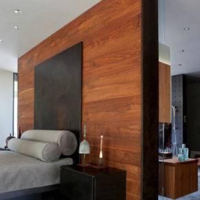 отделка стен деревом фото 5